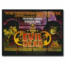 The Evil Dead 20x26inch 1981 Classic Horror Zombie Movie Silk Poster