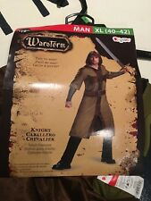 Warstorm Knight Caballero Chevalier Adult Costume Size Men's XL 40-42 #1836
