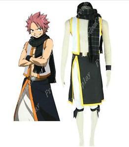 Fairy Tail Natsu Dragneel Cosplay Costume scarf F008