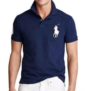 Ralph Lauren Navy No.3 Polo Shirt