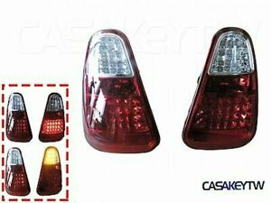 RED CLEAR LED TAIL LIGHTS REAR LAMPS For 01 02 03 04 MINI COOPER R50 R52 R53 JCW