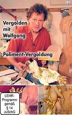 Vergolden mit Wolfgang - Polimentvergoldung VHS Lehrfilm