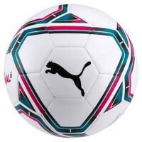 Puma Final 6 MS Training Football Soccer Ball White/Blue/Red