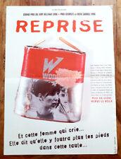 REPRISE - Hervé LE ROUX - Affiche Cinéma (documentaire)