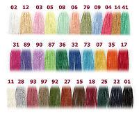 Cotone n 5 ADRIAFIL uncinetto maglia MADE ITALY 100% cotone makò ritorto macchin