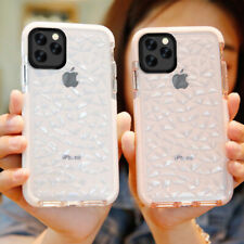 Clear Case For iPhone SE 2020 11 Pro Max XR X 7 8 6 Plus Soft Diamond Back Cover