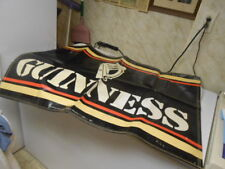 Vtg. 1987 Promotional Guinness Beer Banner