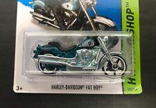 HARLEY-DAVIDSON FAT BOY Hot Wheels 2014 SUPER Treasure Hunt 209/250