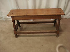 Oak Victorian 20th Century Antique Benches & Stools