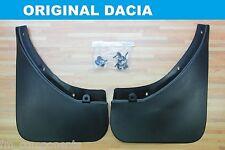 Faldillas guardabarros traseros para Dacia Duster mud flaps original