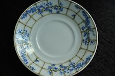 Tiffany China Trellis Blue and White   Demitasse espresso  Saucer only