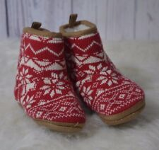 Old Navy Baby Toddler Snowflake Boots Size 18-24 months Christmas Ugly Christmas