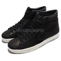 Converse PL 76 Pro Leather Black White Leather Men Casual Shoes Sneakers 155647C
