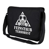 Feinstaub Terrorist Diesel-Fahrverbot Dieselskandal Umhängetasche Messenger Bag