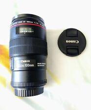 Objetivo Canon EF 100mm f2.8 L IS USM macro