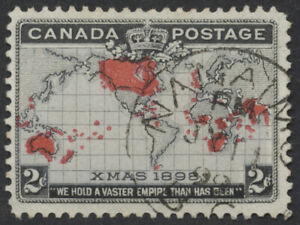 Canada #85 Map Stamp, PP 27 Major Re-Entry, Nanaimo BC CDS PM JY 11 99, VF