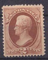 USA US Scott 146 Light Brown Bank Note Stamp Jackson Banknote Mint OG H $325