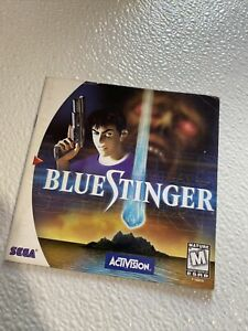 Blue Stinger Manual Only Sega Dreamcast Original Authentic Good Condition
