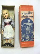 Vintage Hazelle's Marionettes Cinderella Doll No. 814 w/ Original Box