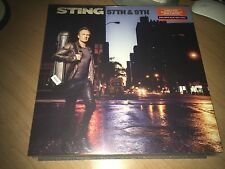 Sting 57th & 9th vinyl color blue - Italian Edition limited. Sealed