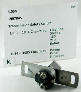1950-1954 Chevrolet 150 210 BelAir NOS transmisson safety switch 1997845