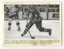 2011-12 Parkhurst Champions - #120 - Wendel Clark - Toronto Maple Leafs