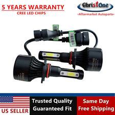 2 Pcs Set 4-Sides LED Headlight Bulb 9005 HB3 Conversion Kit High Low Single