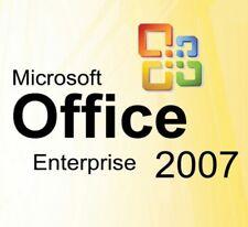 MICROSOFT OFFICE 2007 ENTERPRISE  ORIGINALE DEUTSCHE VOLLVER. MS OFFICE 2PC'S!