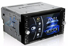 Stereo 2Din Autoradio Navigatore GPS Dvd Bluetooth Usb Sd Cd Mp3 Touch Screen HD
