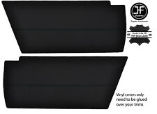BLACK STITCHING 2x REAR END SIDE PANEL VINYL COVERS FITS VW T25 T3 WESTFALIA