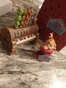 Disney traditions Grumpy ornery organist 4032838 rare