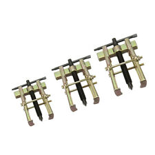 3Pcs 2-Jaw Leg Gear Bearing Puller Remover Two Jaw Gear Puller Remover