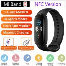Xiaomi Mi Band 5 4 Original Smart Watch AMOLED Screen Sports Fitness Tracker NFC