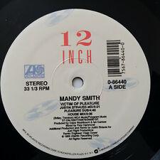 "Mandy Smith – Victim Of Pleasure 1989 US Vinyl 12"" 0-86440 NMint J.Strauss Mix"