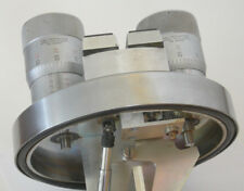 Amray Scanning Electron Microscope Control Withtwo Big 002mm Starrett Micrometers