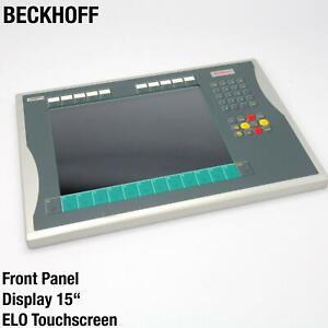 BECKHOFF DISPLAY SHARP LQ150X1LW71N TOUCHSCREEN CP7222 INVERTER C9900-L367 ELO