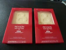 Revlon Age Defying Pressed Powder with DNA - LIGHT # 05 - TWO - Both New/Sealed