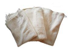 Authentic Mud Cloth Bambara Fabric - Plain White