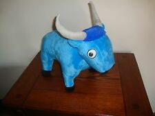 Babe The Blue Ox Plush Stuffed Animal Toy Mall of America Nickelodeon Universe