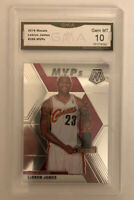 2019-20 Panini Mosaic #298 Lebron James MVP SGC 10 GEM MINT PSA/BGS Comp LAKERS