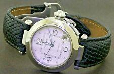 Cartier Pasha 2324 SS elegant high fashion automatic 35.5mm men's watch