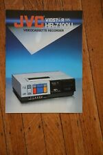 JVC HR-7100U VHS Video Cassette VCR Factory  Sales Catalogue