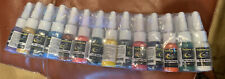 HAO Tattoo Inks Colors .16oz/bottle Pigment Inks Set For Body Art Kit 54 Bottles