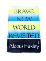 Brave New World Revisited (Hardcover 1958) Aldous Huxley - First Edition -