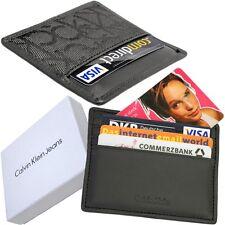 CALVIN KLEIN Kreditkartenetui (5mm flach) EC-/Visa-/Club- Karten Etui Kartenetui