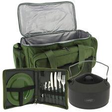 Ngt Carpa Pesca Camping Aislado Carry All Cubiertos Set & 1.1L Aluminio Hervidor