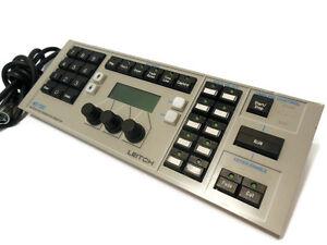 Leitch MGI-1302CP Keypad Control Panel Motion Logo Generator MGI-1302 (Untested)