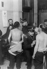 Vintage US Immigration Body Check Photo Bizarre Odd Freaky Strange