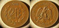 Mexico : 1920 20 Ct  CH.AU-UNC  Very Nice  # 437   IR3886