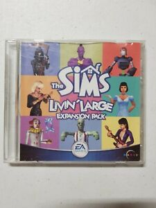 PC Game - The Sims Livin' Large Expansion Pack + Manual